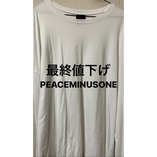 PEACEMINUSONE - PEACEMINUSONE ロングシャツ
