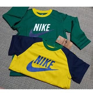 NIKE - NIKE ナイキ 半袖 Tシャツ ロンT グリーン イエロー 緑 黄色 2枚