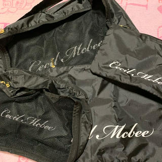 CECIL McBEE - CECIL McBEE☆新品☆最新☆トラベルポーチ4点セット☆