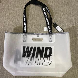 シー(SEA)の新品 wind and sea WEEKEND bag ブラックトートバック(トートバッグ)