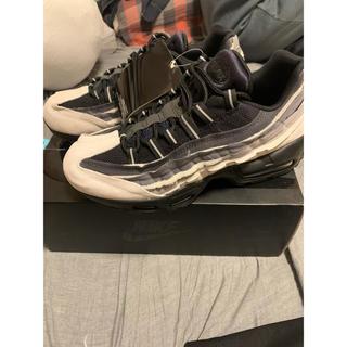 コムデギャルソンオムプリュス(COMME des GARCONS HOMME PLUS)のComme des Garcons x Nike Air Max 95 ブラック(スニーカー)