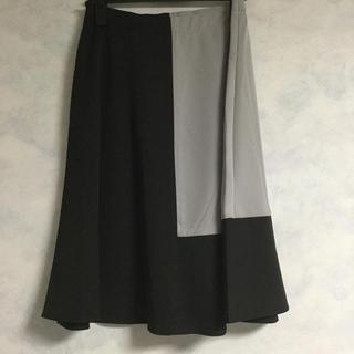 ニッセン(ニッセン)のAラインスカート(ひざ丈スカート)