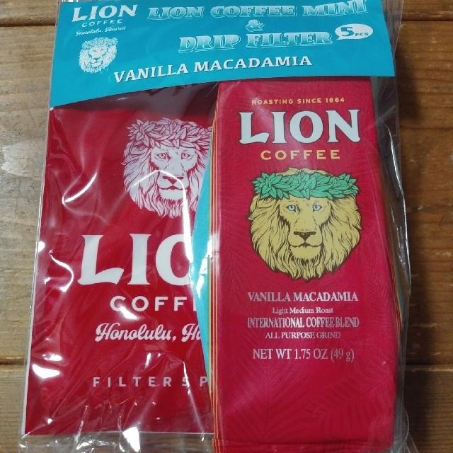 LION(ライオン)のライオンコーヒー ラバーボトル&コーヒーセット 食品/飲料/酒の飲料(コーヒー)の商品写真