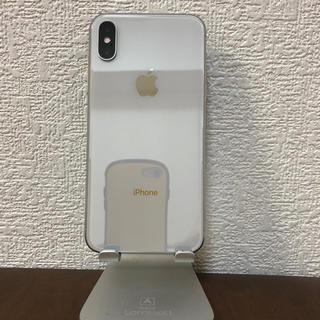 iPhone - iPhone X SILVER 本体 256GB au SIMフリー