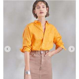 ミラオーウェン(Mila Owen)のカフスデザインリネンシャツ(シャツ/ブラウス(長袖/七分))