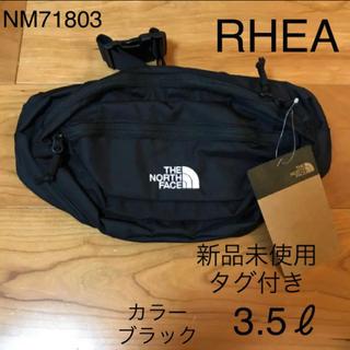 ザノースフェイス(THE NORTH FACE)の【新品未使用】ノースフェイス RHEA ウエストバッグ NM71803 ブラック(ボディーバッグ)