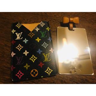 ルイヴィトン(LOUIS VUITTON)の【美品】Louis Vuittonマルチカラー コンパクトミラー(ミラー)