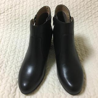 アシナガオジサン(あしながおじさん)の新品未使用 あしながおじさん サイドベルトショートブーツ(ブーツ)