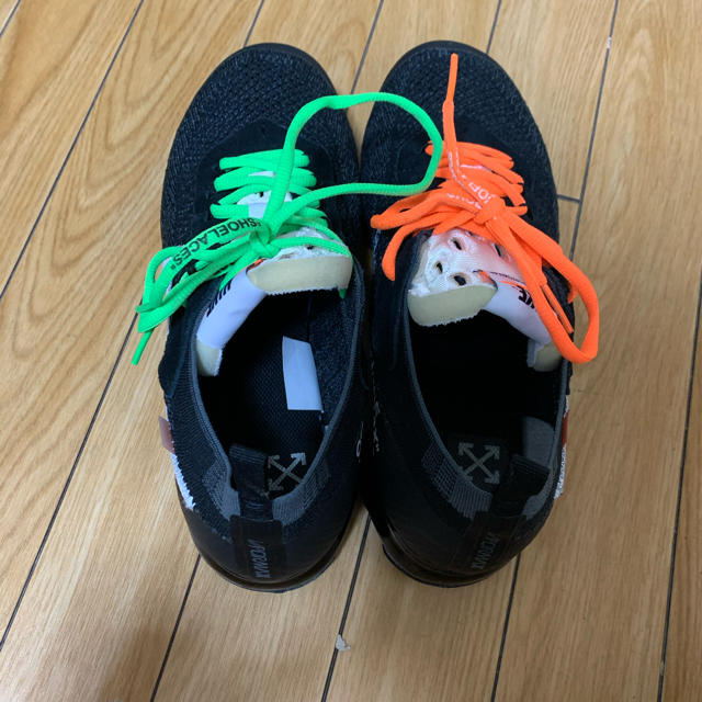 OFF-WHITE(オフホワイト)のNIKE ヴェイパーマックス off-white メンズの靴/シューズ(スニーカー)の商品写真