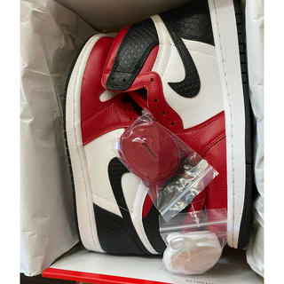 NIKE - 【NIKE Air Jordan1 (W)】Satin Red ジョーダン 1