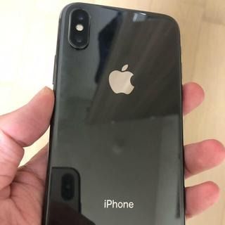 iPhone - 【極美品】iPhone X 256gb SIMフリー 本体 スペースグレイ
