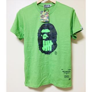 A bathing ape undefeated Tシャツ コラボ