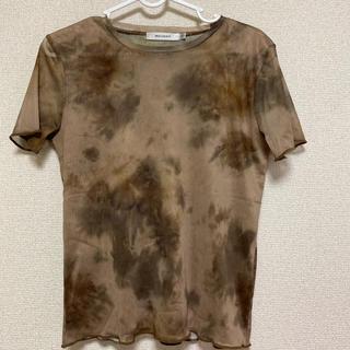 マウジー(moussy)のmoussy タイダイシースルー Tシャツ(Tシャツ(半袖/袖なし))