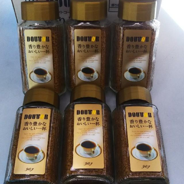 【地域限定】ドトール インスタントコーヒー 90g × 6本 食品/飲料/酒の飲料(コーヒー)の商品写真