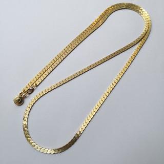 アメリカ製 ゴールドロングネックレス K18GF刻印あり