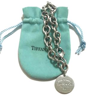 Tiffany & Co. - リターントゥ ティファニー ラウンド タグ チャーム ブレスレット サークル