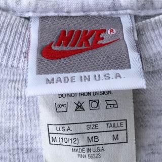 ナイキ(NIKE)のナイキ Tシャツ 銀タグ MADE IN USA 90s 銀タグ前期霜降りグレー(Tシャツ(半袖/袖なし))