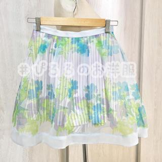リリーブラウン(Lily Brown)のLily Brown 花柄スカート 新品未使用 匿名 送料込み(ひざ丈スカート)