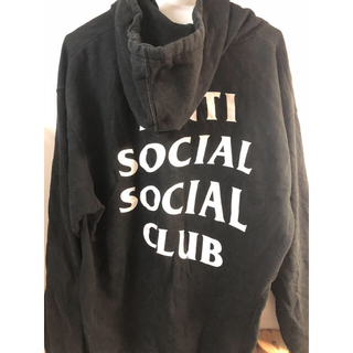asscパーカー 「Anti Social Social Club」