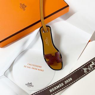 Hermes - ✨国内入手困難✨エルメス オランチャーム バッグチャーム ルージュアッシュ 新品