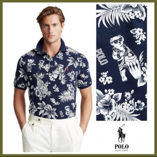 ポロラルフローレン(POLO RALPH LAUREN)のPOLO Ralph Lauren Tropical-Print (ポロシャツ)
