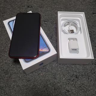 iPhone - iphoneXR 128GBドコモ レッド SIMフリー