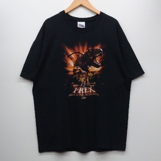 T-Rex Back to the Cretaceous 映画 Tシャツ XL(Tシャツ/カットソー(半袖/袖なし))
