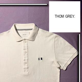 THOM BROWNE - 美品 THOM GREY s/s ポロシャツ