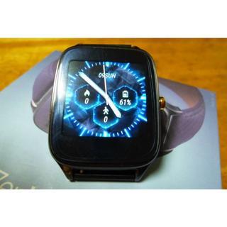 エイスース(ASUS)の極上 ASUS ZenWatch2 スマートウオッチ WI501Q 通話可(腕時計(デジタル))