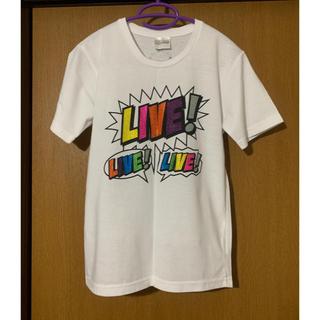 ニュース(NEWS)の【Johnnys】NEWS LIVE Tシャツ(アイドルグッズ)