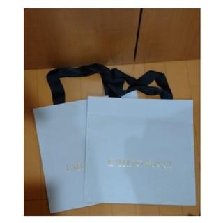 エミリオプッチ(EMILIO PUCCI)のエミリオ・プッチ ショップ袋 二枚(ショップ袋)