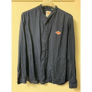 ダントン(DANTON)のダントン リネン ノーカラーシャツ 40 キャップセット(シャツ)