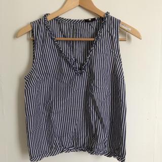 マックスアンドコー(Max & Co.)のノースリーブシャツ【MAX &Co.】(カットソー(半袖/袖なし))