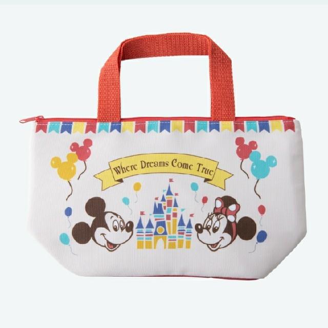 Disney(ディズニー)の東京ディズニーリゾート限定品 ミッキー ミニー ランチバッグ エンタメ/ホビーのおもちゃ/ぬいぐるみ(キャラクターグッズ)の商品写真