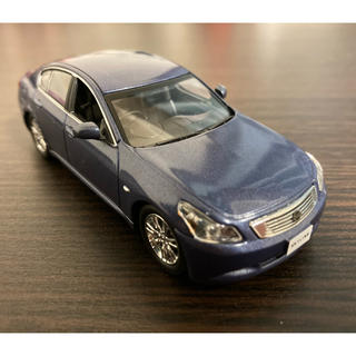 ニッサン(日産)の日産モデルカーコレクション  V36 スカイライン ブルー 1/43 京商 Jコ(ミニカー)