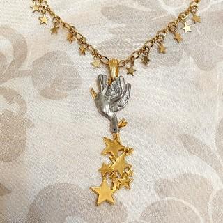 パルナートポックpalnart poc ガチョウの王子様 ネックレス 王冠 星