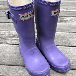 ハンター(HUNTER)のハンター 長靴 レインブーツ キッズ UK10(長靴/レインシューズ)