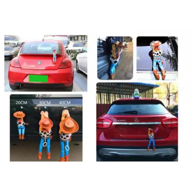 Disney(ディズニー)の再入荷❤️ウッディー のカーアクセサリー❤️35cm 自動車/バイクの自動車(車外アクセサリ)の商品写真