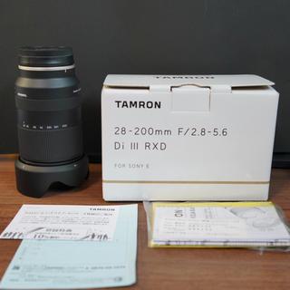 TAMRON - 早い者勝ち!たぶん最安値!超美品 タムロン 28-200mm a071