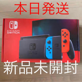 Nintendo Switch - 新品未開封★Switch 任天堂スイッチ 本体 ネオンブルー ニンテンドウ