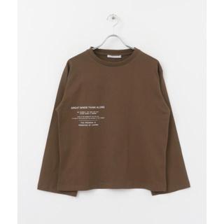 ケービーエフ(KBF)のKBF ケービーエフ バックプリントロンTシャツ(Tシャツ(長袖/七分))