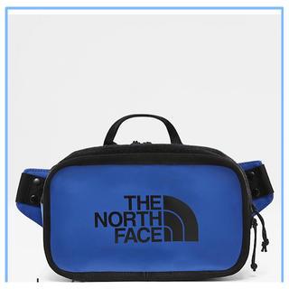 ザノースフェイス(THE NORTH FACE)の【新品】ノースフェイス Explore bum bag バッグ ブルー(ボディーバッグ)