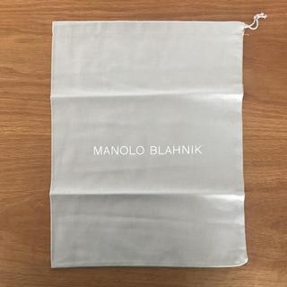 マノロブラニク(MANOLO BLAHNIK)のMANOLO BLAHNIK 保存袋(ショップ袋)