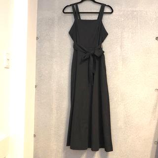 URBAN RESEARCH - 肩紐が可愛い アーバンリサーチ ジャンパースカート ワンピース ブラック