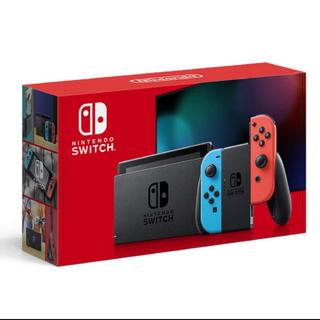 Nintendo Switch - 送料込み 新品未使用 Nintendo Switch ネオン 本体