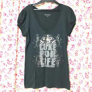 ジューシークチュール(Juicy Couture)のジューシークチュール Tシャツ ダークグレー(Tシャツ(半袖/袖なし))