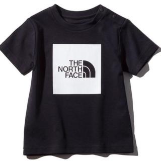 THE NORTH FACE - 【新品未使用】ノースフェイス Tシャツ カラードビックロゴティー ブラック 80