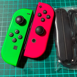 Nintendo Switch - ジョイコン  ★スプラカラー★ 作動品