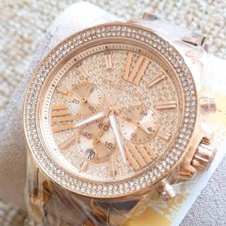 Michael Kors - MICHAEL KORS MK6096 レディース 腕時計 ローズゴールド