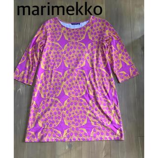 マリメッコ(marimekko)のマリメッコ 7分袖チュニック M~Lサイズ(チュニック)